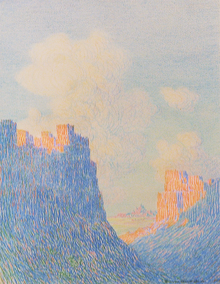 alt Untitled (Canyon and Clouds, Arizona)