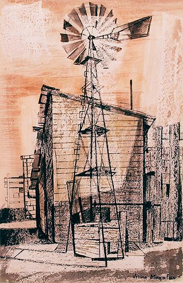 alt Windmill on the Plains