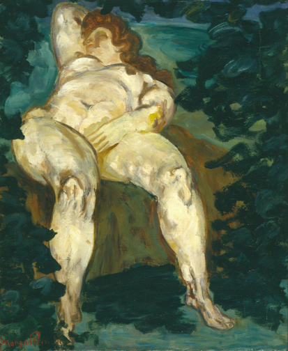 alt Untitled (Reclining Woman), c.1915