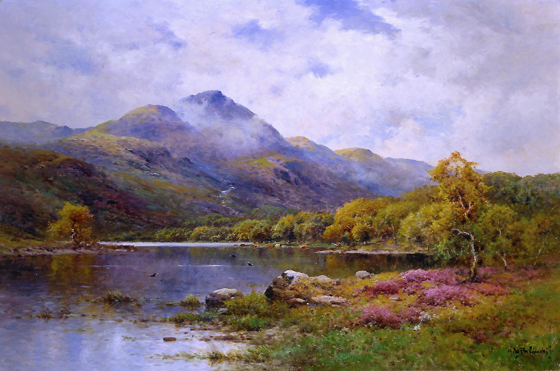 alt The Trossachs, Ben Venue and Loch Achray