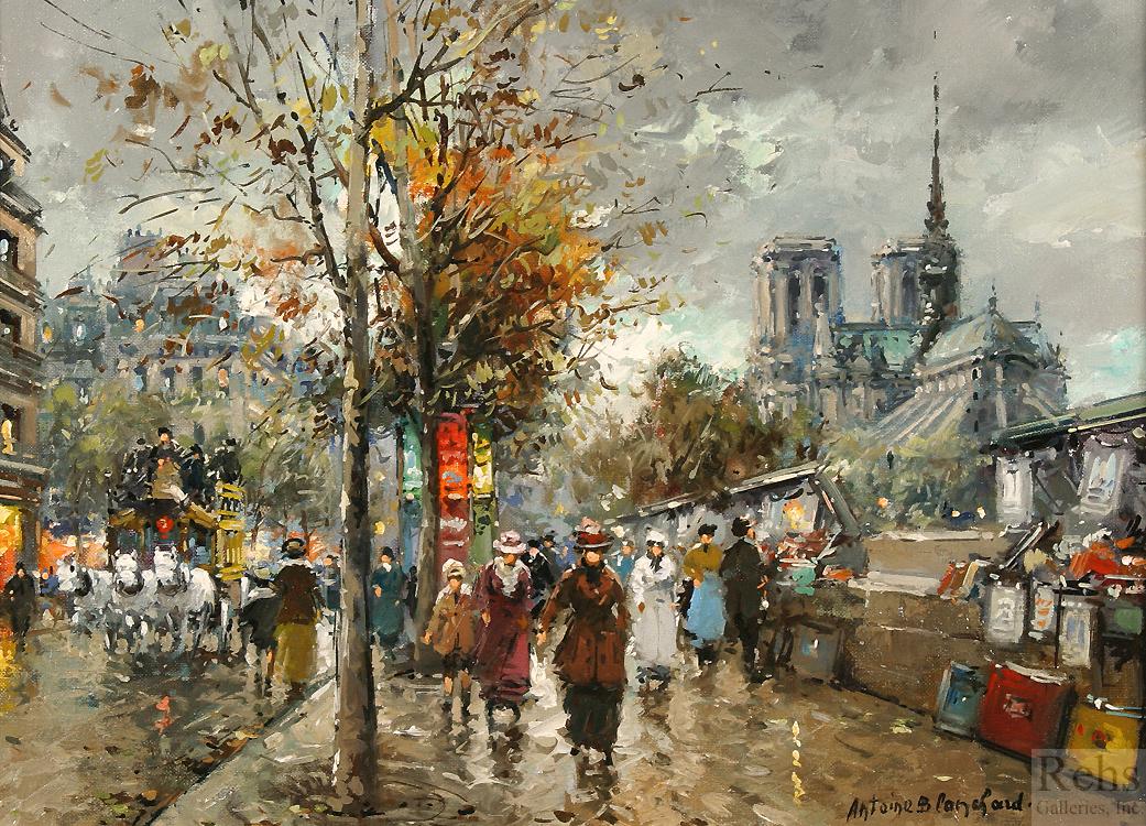alt Notre Dame, Les Bouquinistes