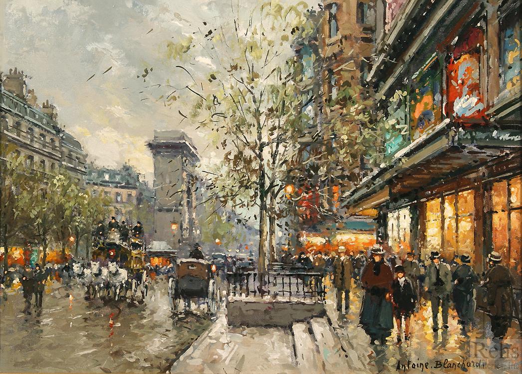 alt Porte St. Denis, Les Grands Boulevards