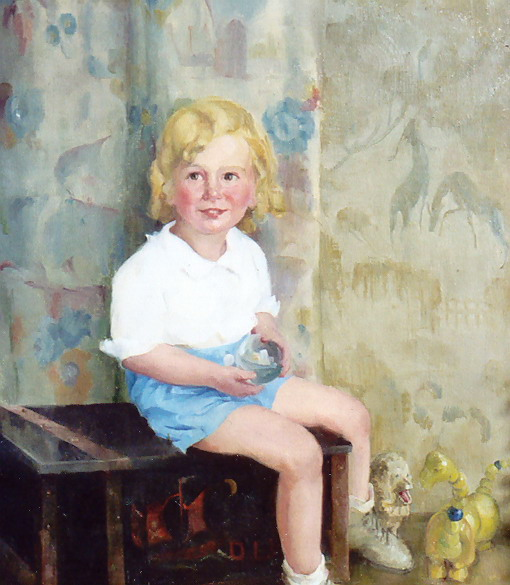 bornarth portrait of a child