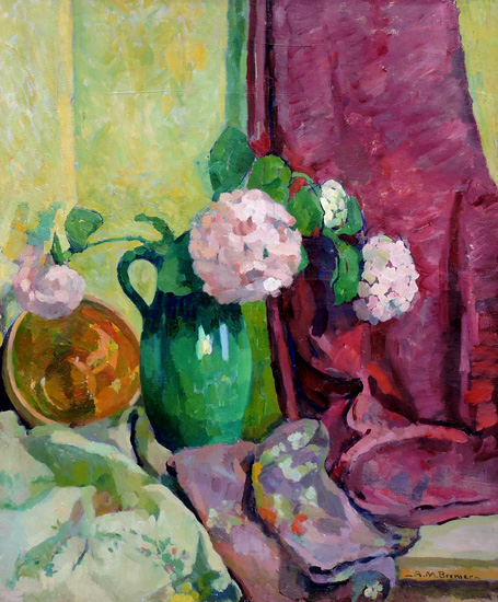 alt Still Life with Hydrangeas