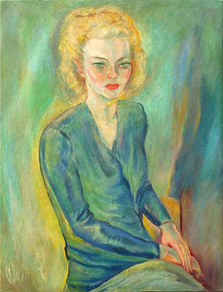 Retrato de Fernande Lescot(Portrait of Fernande Lescot)