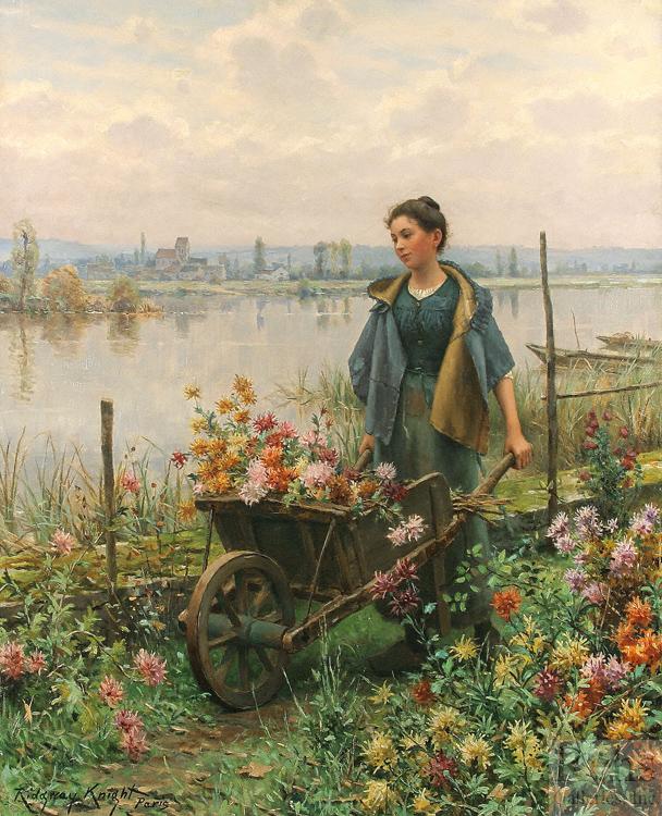 alt Gathering Flowers