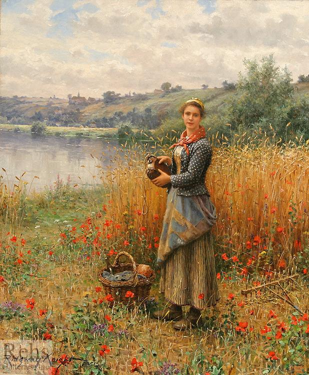 alt Madeleine in a Wheat Field
