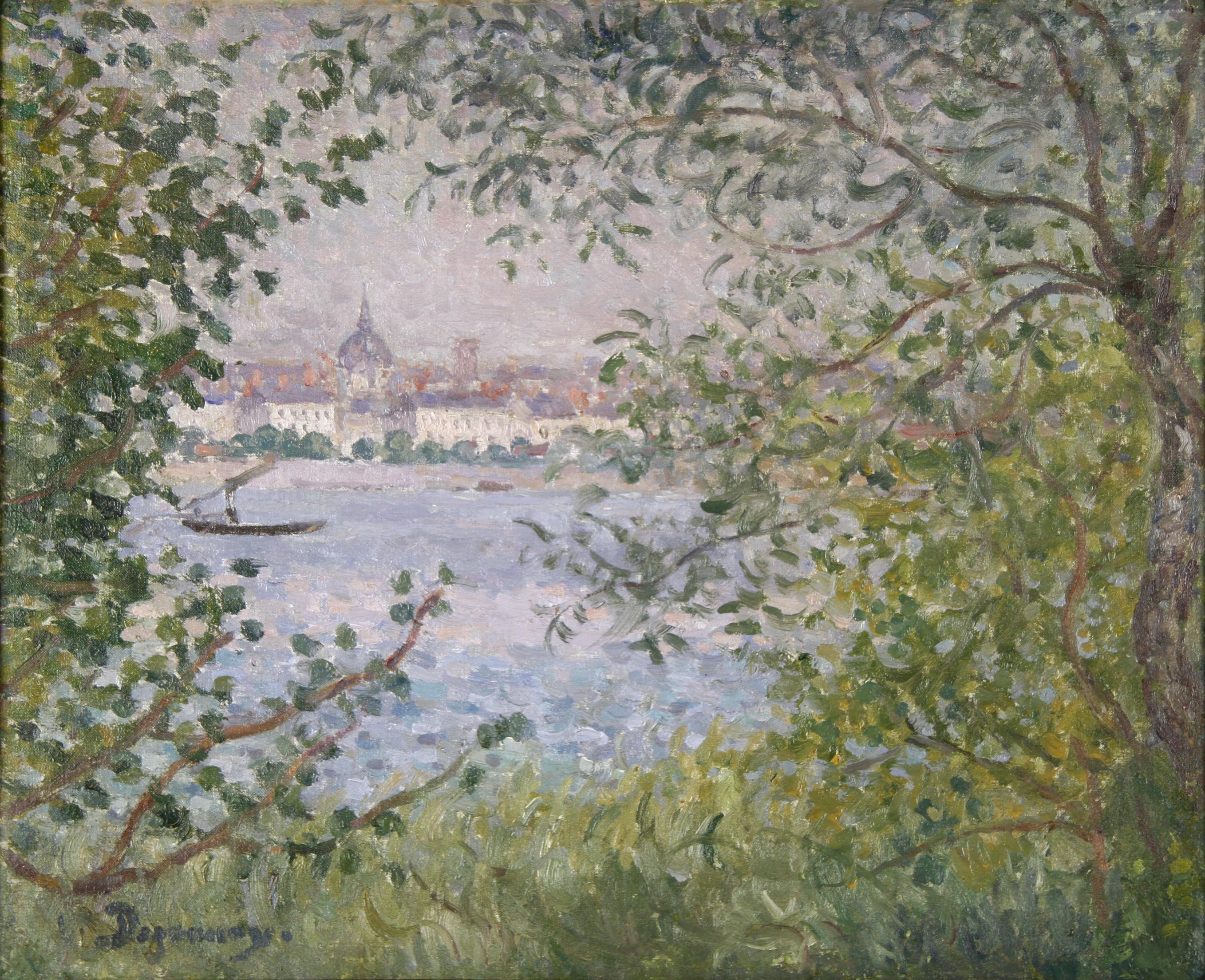 Le Printemps au bord de la Loire (Nantes)