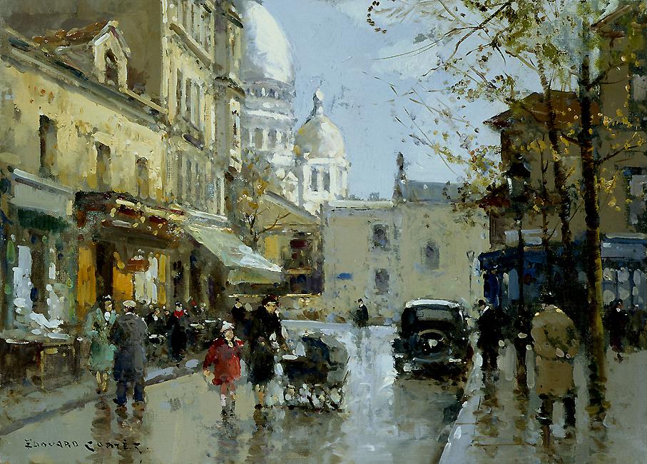alt Place du Tertre, Montmartre