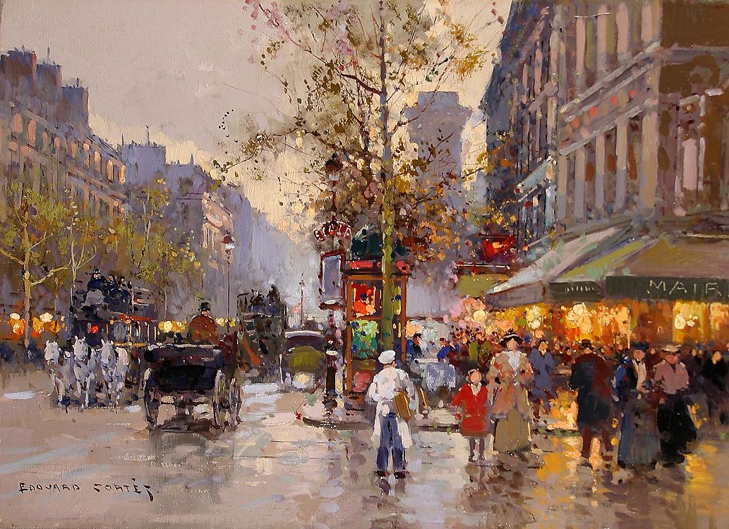 alt Porte St. Denis, 1905