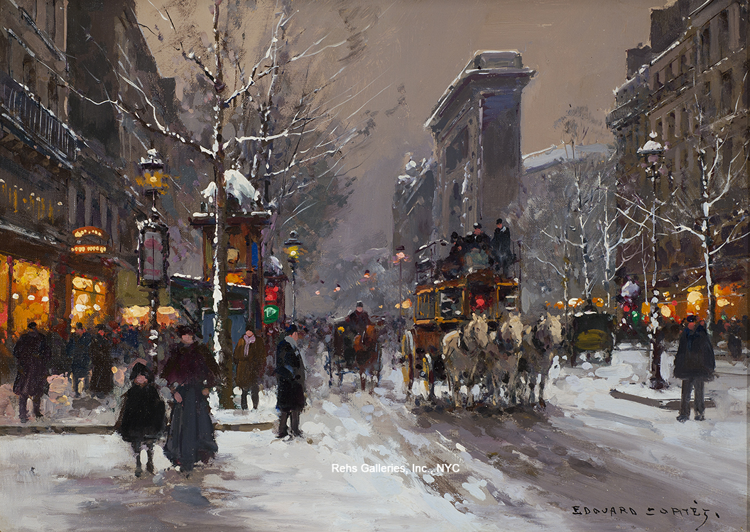 alt Porte St. Denis, Winter