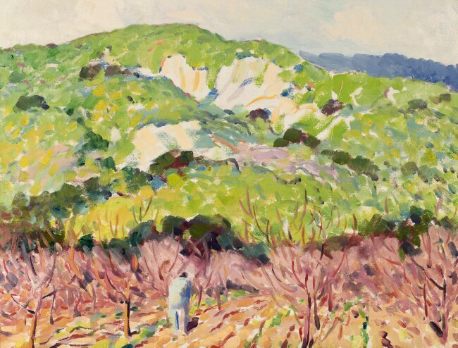 alt Orchard Mountain Landscape