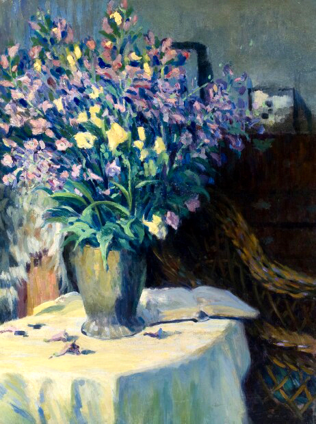 alt Still Life with Flowers