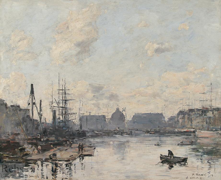 alt Le Havre, le bassin du commerce