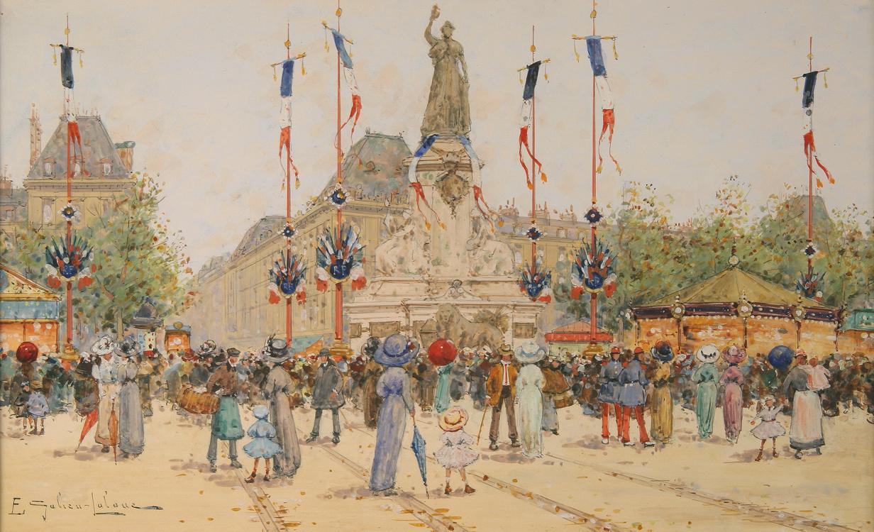 alt Un 14 juillet Place de la Bastille
