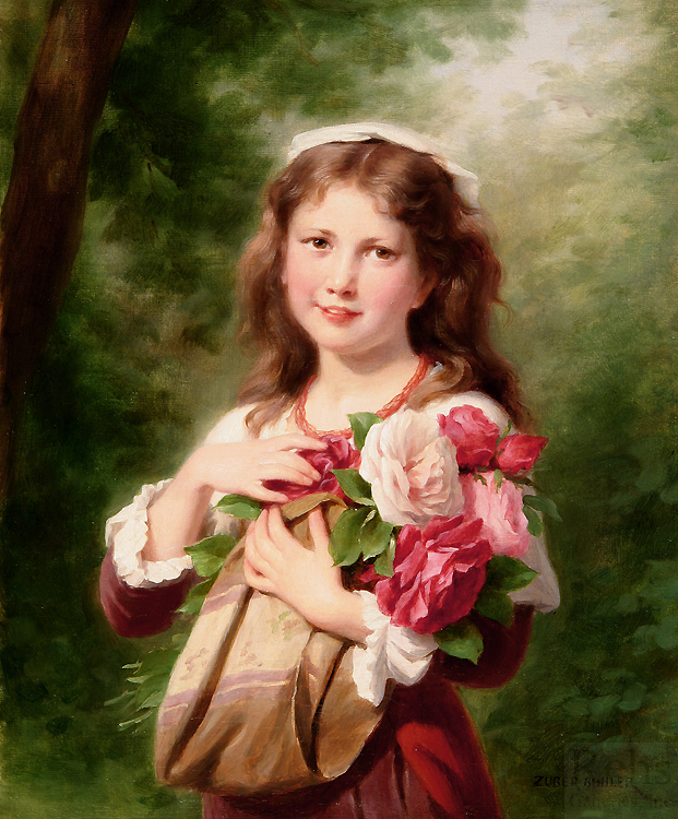 alt Portrait of a Young Girl