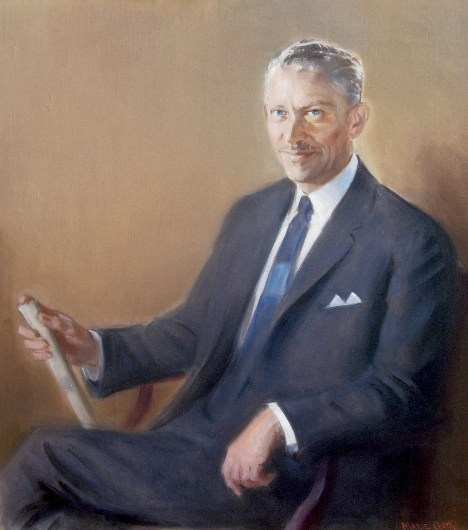 alt Portrait of Arthur S. Overbay