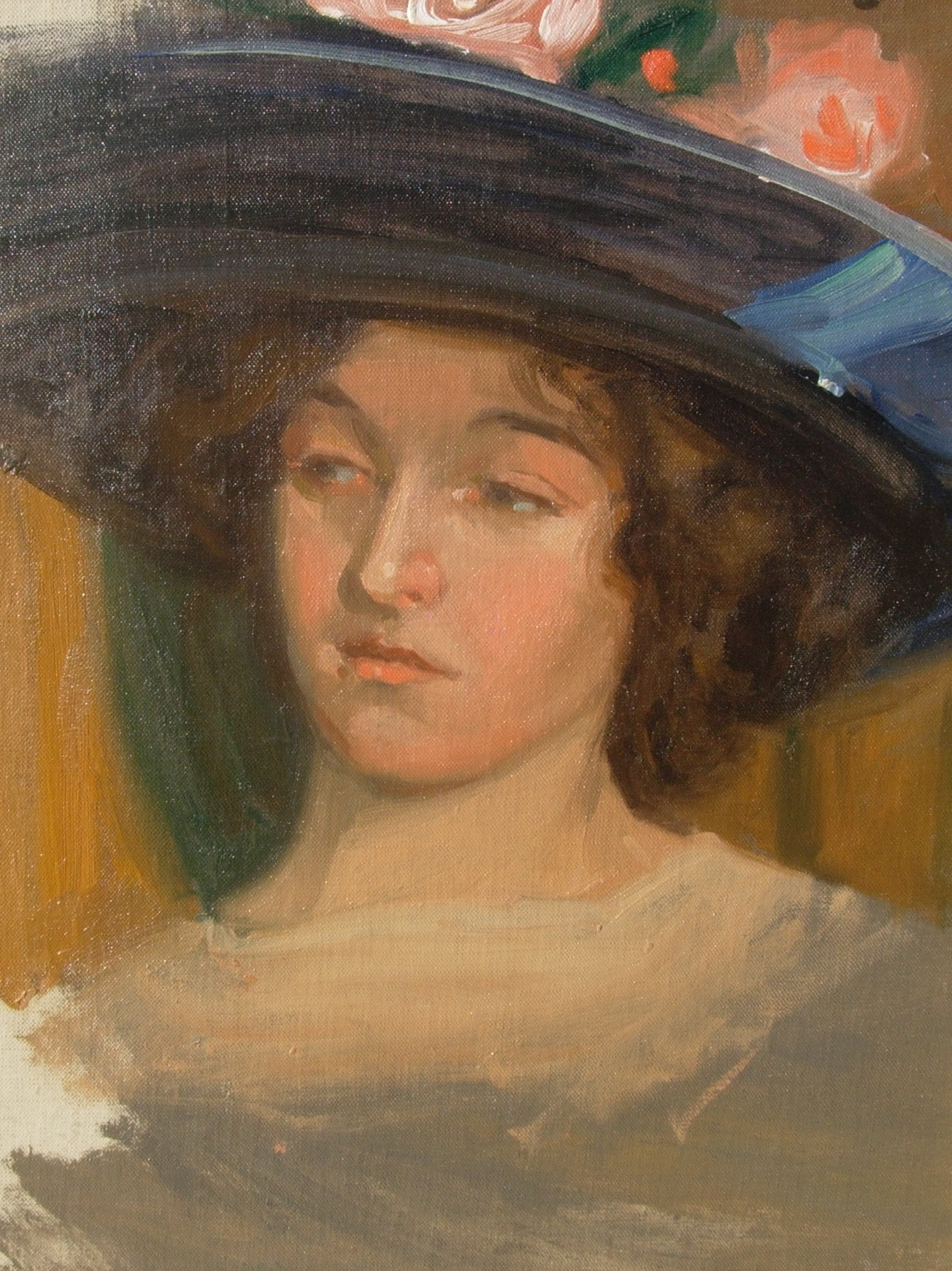 alt Young Girl in Hat