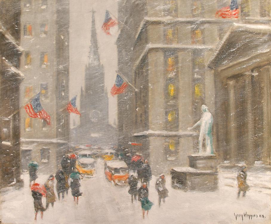 alt Washington's Birthday on Wall Street