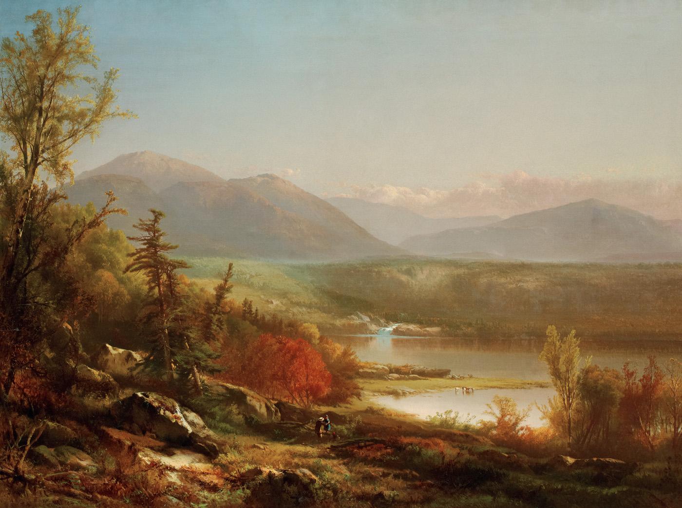 Along the Winding Way, 1864