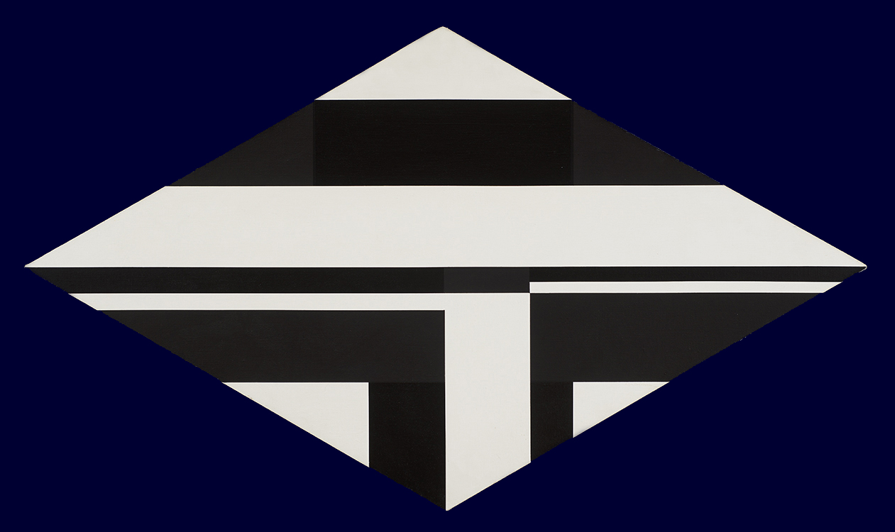 alt Rhomb in Black & White (1975)