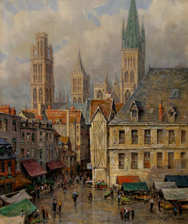 alt Market Place, Rouen