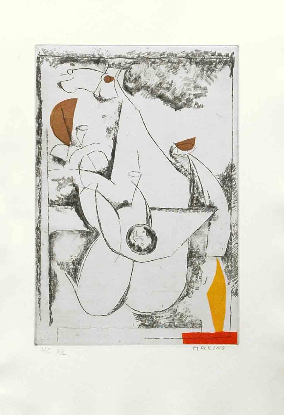alt Miracolo, from Tout Pres de Marini, Plate IV, 1971