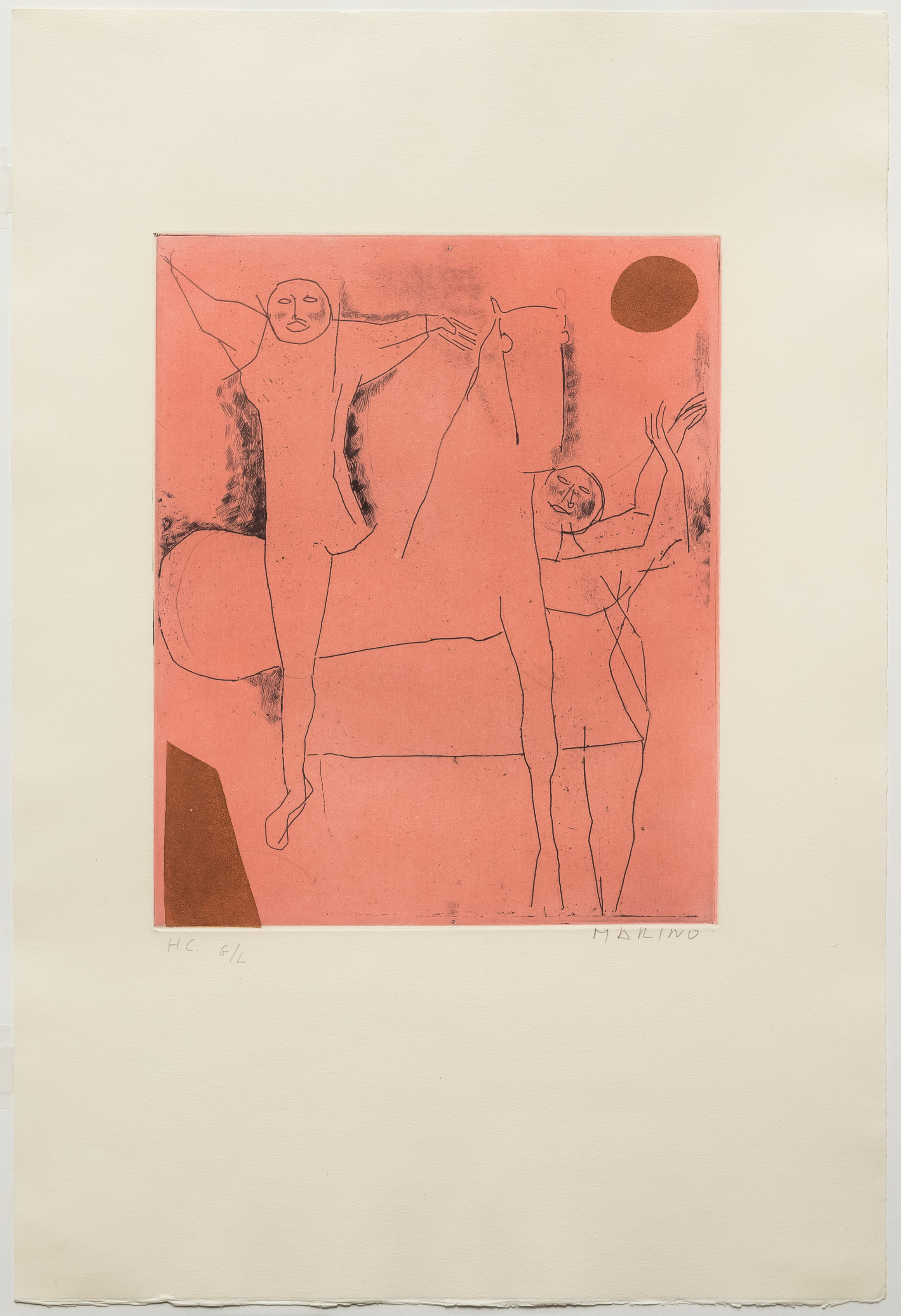 alt Giocoliere, from Tout Pres de Marini, Plate VIII, 1971