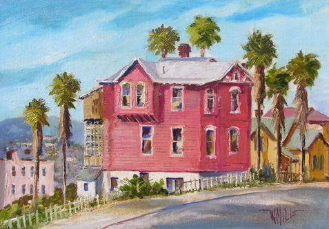 alt Red House on Bunker Hill, Los Angeles