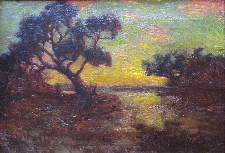 alt Evening, Southwest Texas, 1911