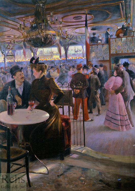 alt Moulin de la Galette, 1894