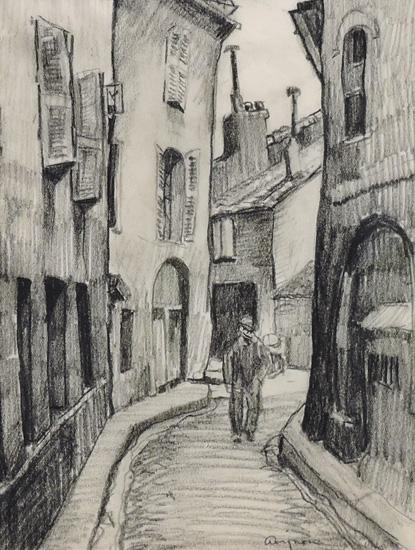 alt A Street in Avignon