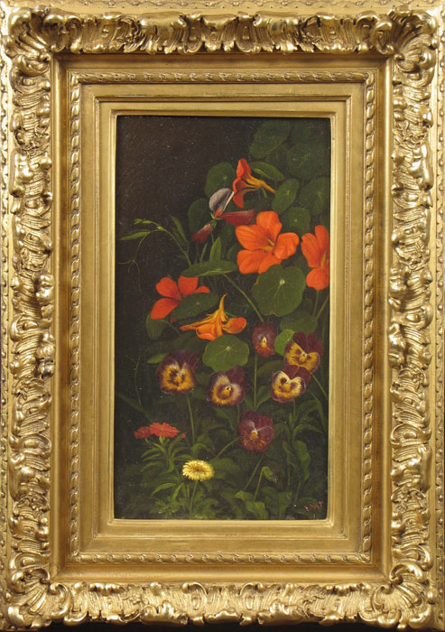 prentice_pansies-and-nasturtiums_framed