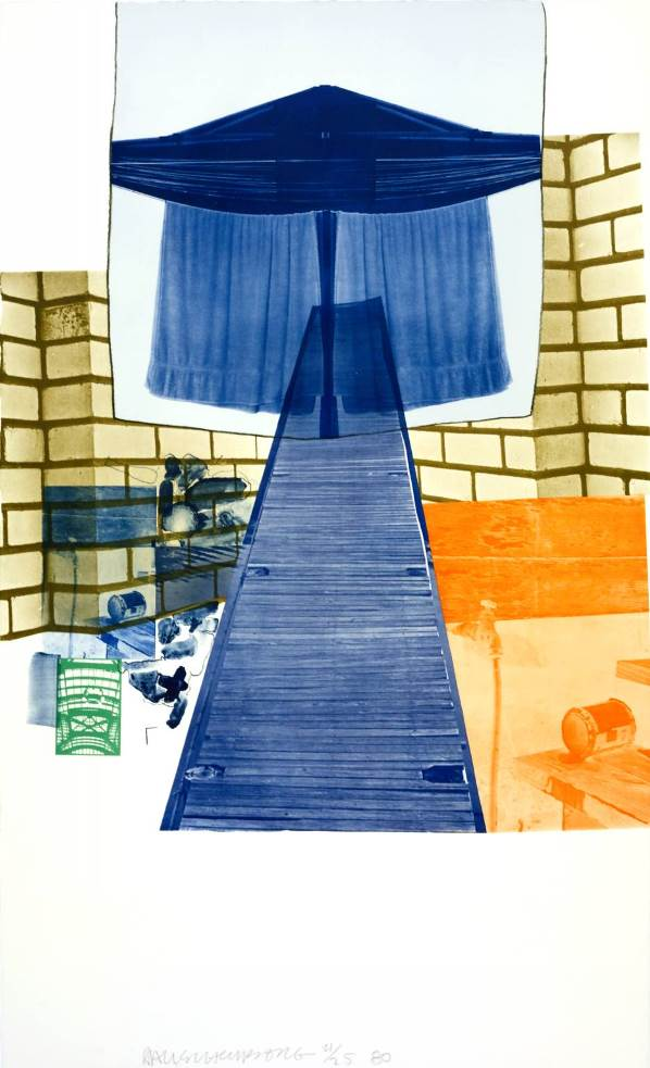alt Glacial Decoy Series, Lithograph IV, 1980