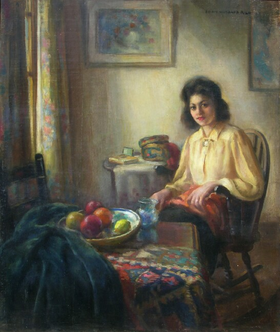 alt Sitting Woman