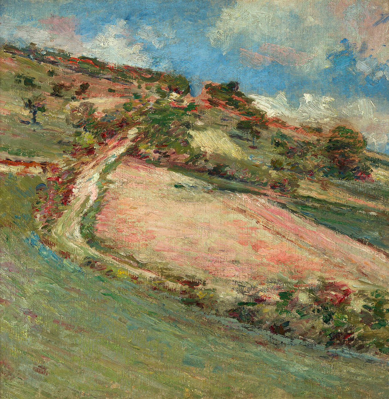 alt Hillside, Springtime, Giverny