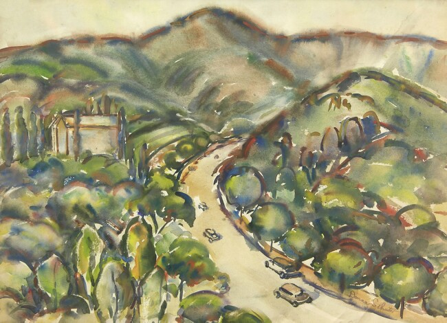 alt View of Griffith Park #2 (S000414)