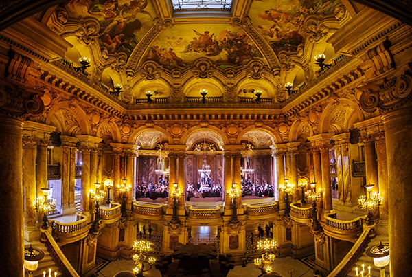 Opera Garnier Stella McCartney Spring/Summer 2015 Fashion show in the Opera Garnier Paris C-print by fine art photographer Simon Procter