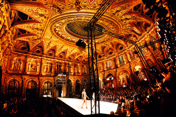 Stella McCartney, Opera Spring/Summer 2006 Hotel Opera, Paris C-print by fine art photographer Simon Procter