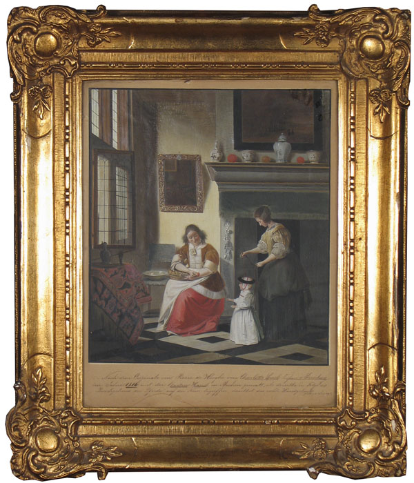 alt A Dutch Interior: After Pieter de Hooch