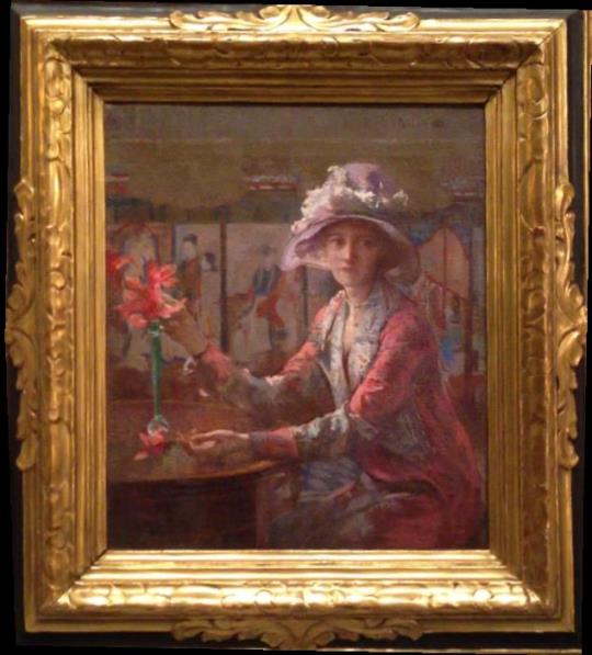Mary Arranging Flowers, 1932