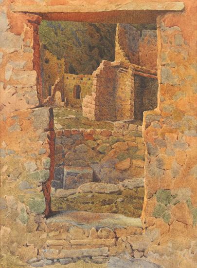 Ruins, Mesa Verde, New Mexico