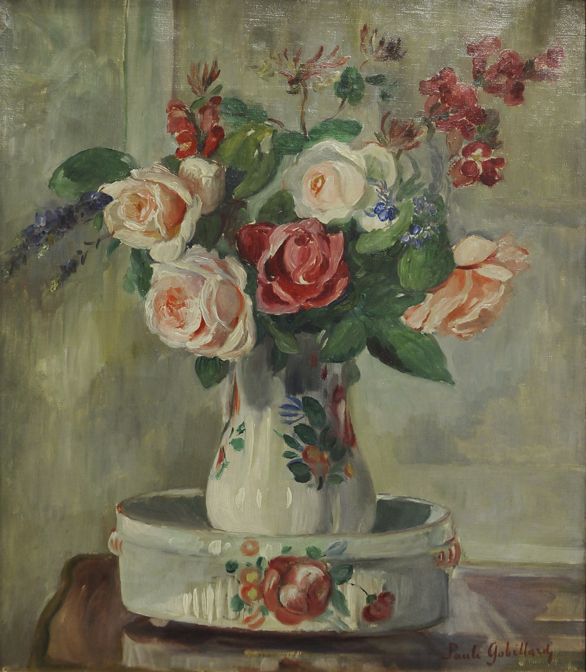 alt Vase de roses