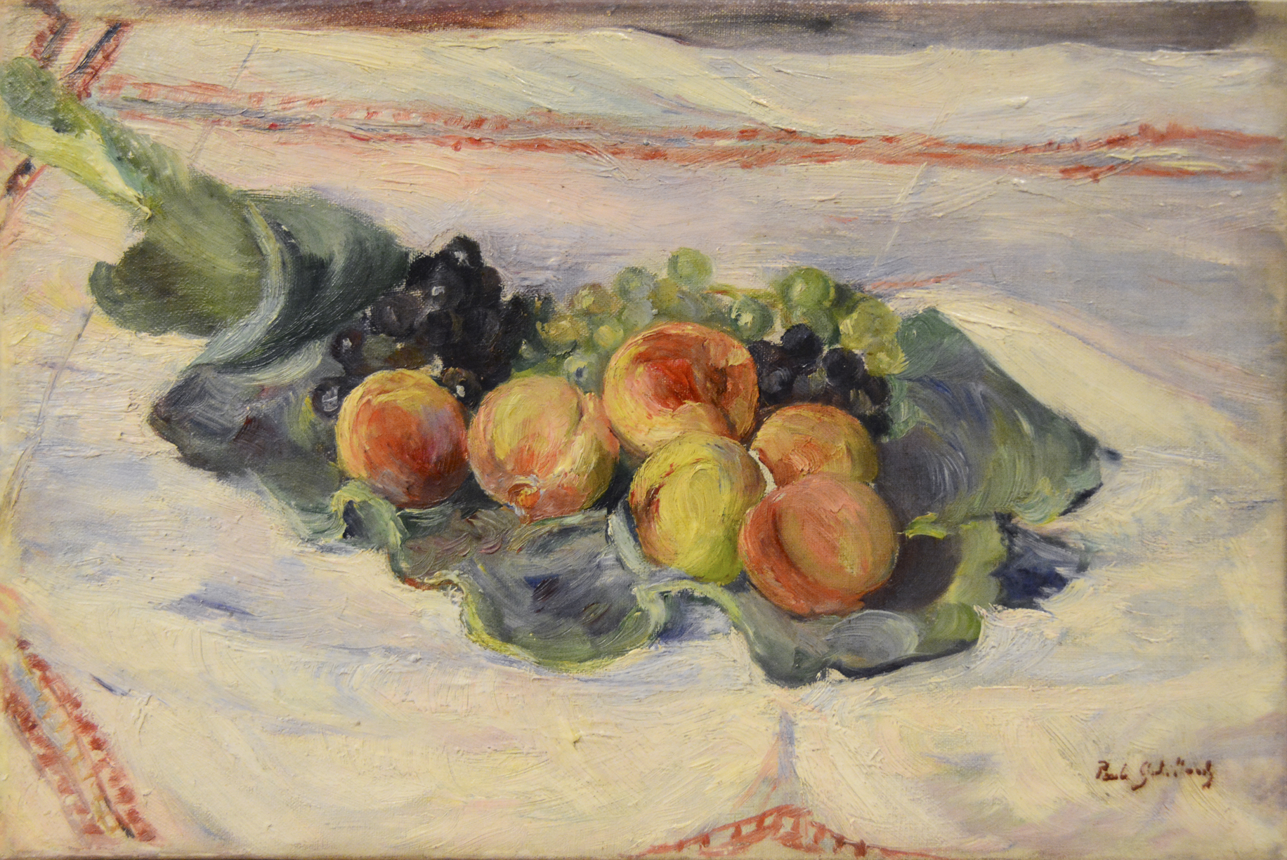 alt Nature morte aux pêches et au raisin (Still-life with Peaches and Grapes)