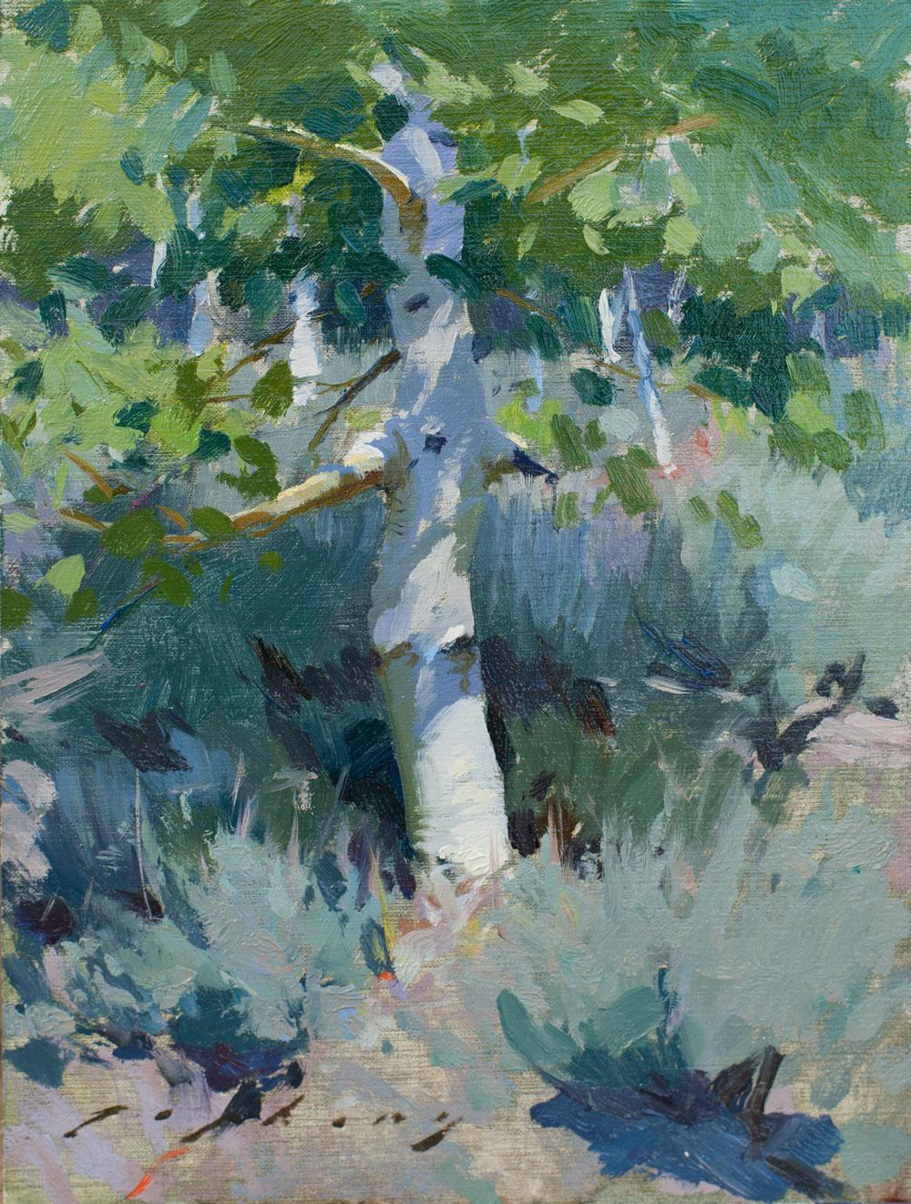 Sagebrush and Aspen