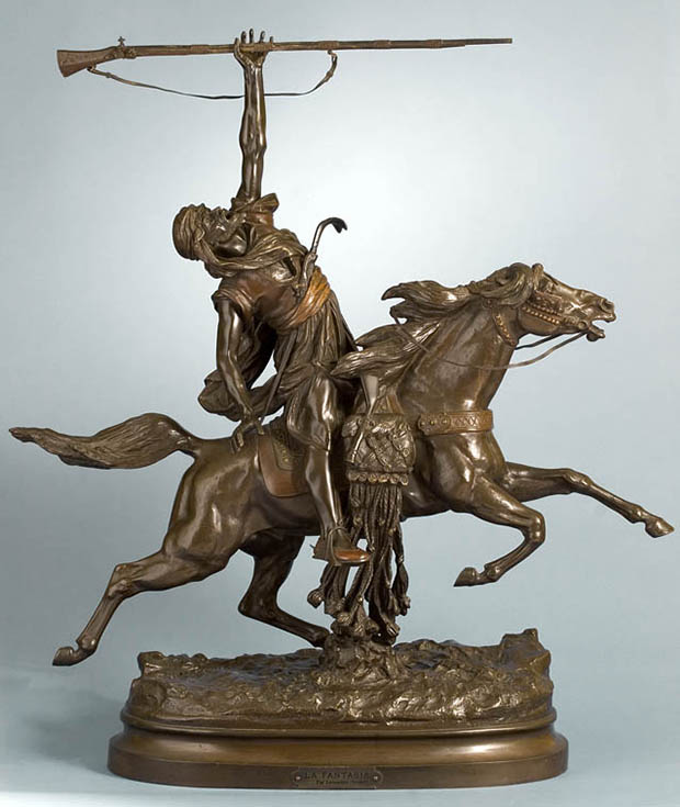 La Fantasia arabe (Arab Warrior on Horseback)