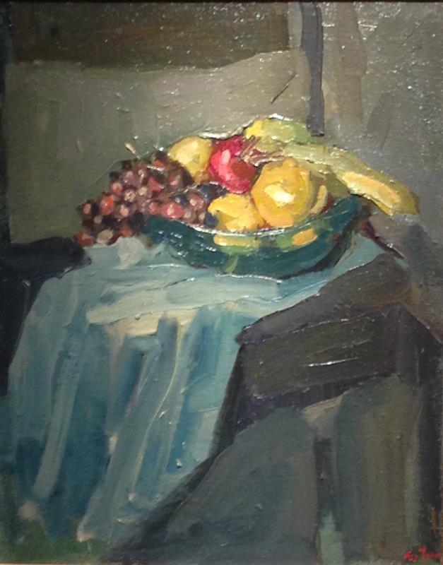 """alt """"Still Life with Glass Bowl of Fruit"""""""