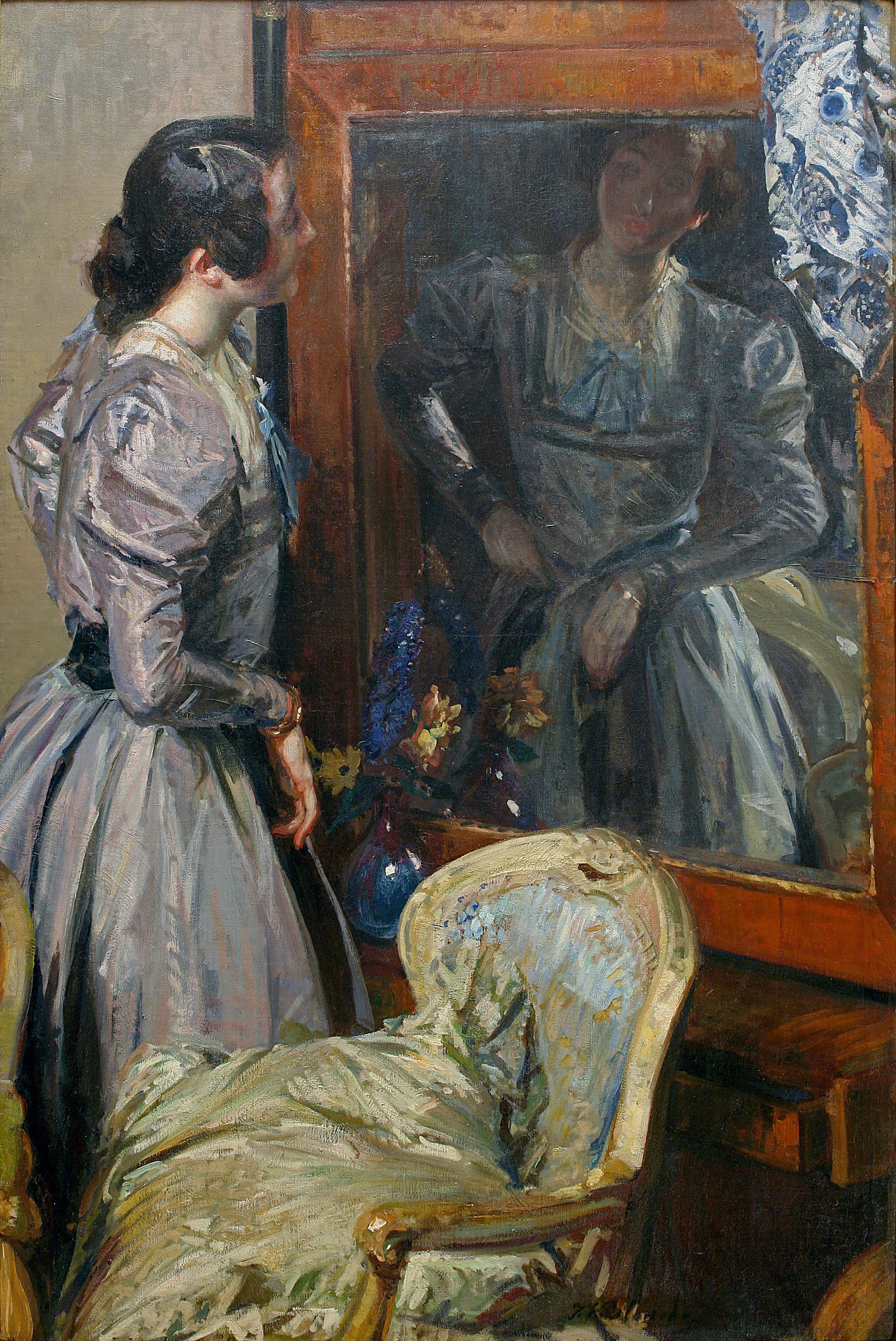 alt In the Mirror (Désirée Manfred or Bérénice)
