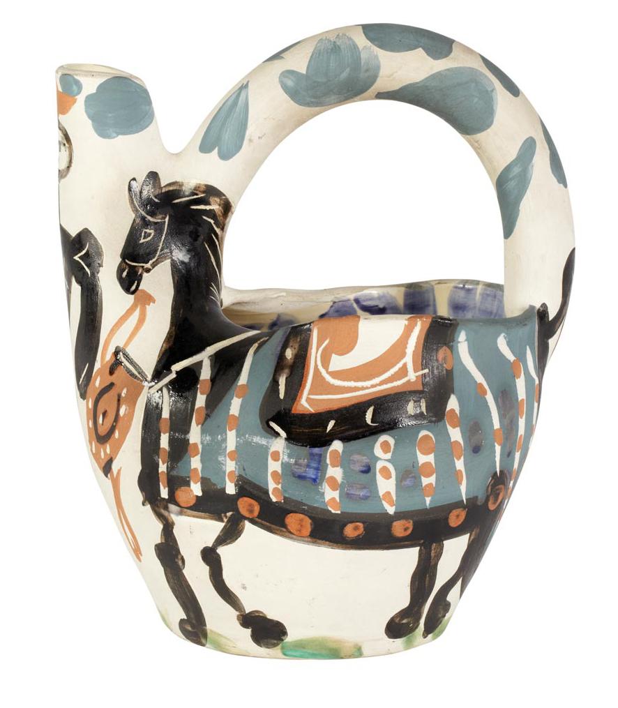 Cavalier et cheval (Cavalier and Horse) (R 137)