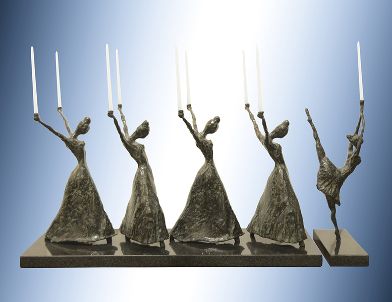 alt Menorah: Freedom in Movement